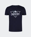 T-shirt Landmark - granatowy, Carpatree