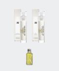 AY1 Cornflower 50 ml + AY3 Chestnut cream 50 ml + Raspberry & Rosemary facial oil 30 ml set, Krayna