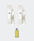 AY1 Cornflower 50 ml + AY2 Water Pepper cream 50 ml + Raspberry & Rosemary facial oil 30 ml set, Krayna