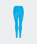 Legginsy bezszwowe Phase - niebieskie Azure, Carpatree