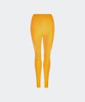 Legginsy bezszwowe Phase - żółte, Carpatree