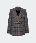 Porto checked jacket, Silky Mood