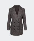 Fira checked jacket, Silky Mood