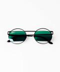 Okulary przeciwsłoneczne Green Emerald, Zielone