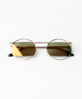 Okulary przeciwsłoneczne Classic Gold Fire, Złote