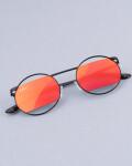 Okulary przeciwsłoneczne z polaryzacją Spicy Red&Black, Czarno-czerwone