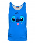 BLUE ALIEN Tank Top