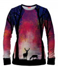 DEER IN THE FOREST Women Sweater