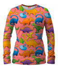 DINOSAURS PATTERN Women Sweater