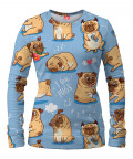 I LOVE PUGS Women Sweater