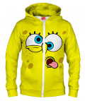 YELLOW FACE Hoodie Zip Up