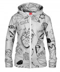 PEACE & LOVE Hoodie Zip Up