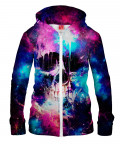 SPACE SKULL Hoodie Zip Up