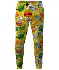 Spodnie OMG COMICS YELLOW