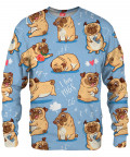 I LOVE PUGS Sweater