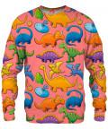DINOSAURS PATTERN Sweater
