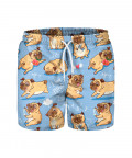 I LOVE PUGS Swim Shorts