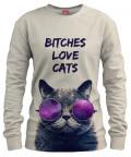 Bluza BITCHES LOVE CATS
