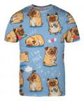 Koszulka I LOVE PUGS