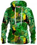 TOUCAN IN GREEN Hoodie