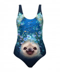 SLOTH HORNS UP Swimsuit