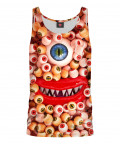 MONSTER EYES PARTY Tank Top