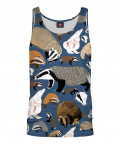 BADGER PATTERN Tank Top