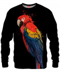 PARROT ON BLACK Sweater