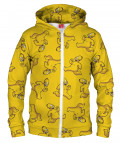 NAKED HOMER Hoodie Zip Up
