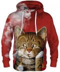 Bluza z kapturem SMOKING CAT