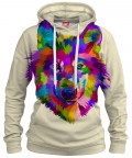 Bluza z kapturem COLORFUL WOLF
