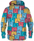 COLORFUL CATS PATTERN Hoodie