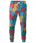 COLORFUL CATS PATTERN Sweatpants