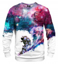 Bluza ze wzorem Surfing Cosmonaut