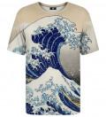 T-shirt ze wzorem Kanagawa Wave