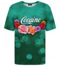 T-shirt ze wzorem Cocaine