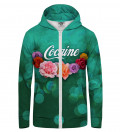 Cocaine Zip Up Hoodie