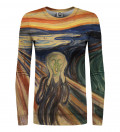 The Scream womens sweater