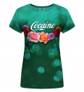 Cocaine womens t-shirt