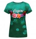 T-shirt damski Cocaine