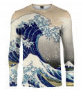 Koszulka z długim rękawem Kanagawa Wave
