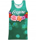 Cocaine tank-top