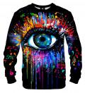 Black Fullprint sweater