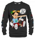 Black Pillnocchio sweater