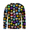 Pokemoji sweater for kids