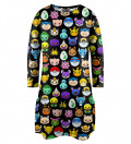 Pokemoji Longsleeve Dress for kids
