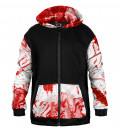 Bloody Cotton Zip Up Hoodie