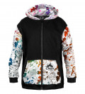 Walt Dealer Cotton Zip Up Hoodie