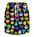 Pokemoji Skirt for kids