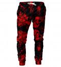 Black Bloody mens sweatpants